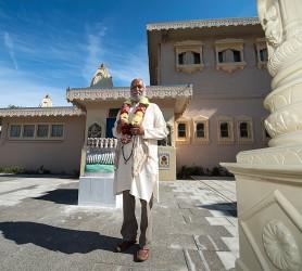 Pandit Shri Brahmrishi van Hindoecentrum Sewa Dhaam ©Mylène Siegers