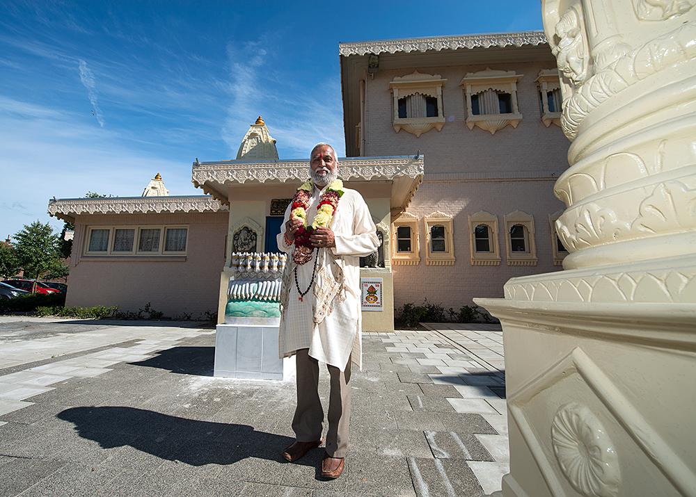 Pandit Shri Brahmrishi van Hindoecentrum Sewa Dhaam ©Mylene Siegers