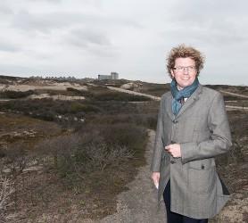staatssecretaris OCW Sander Dekker in Westduinpark ©Mylène Siegers