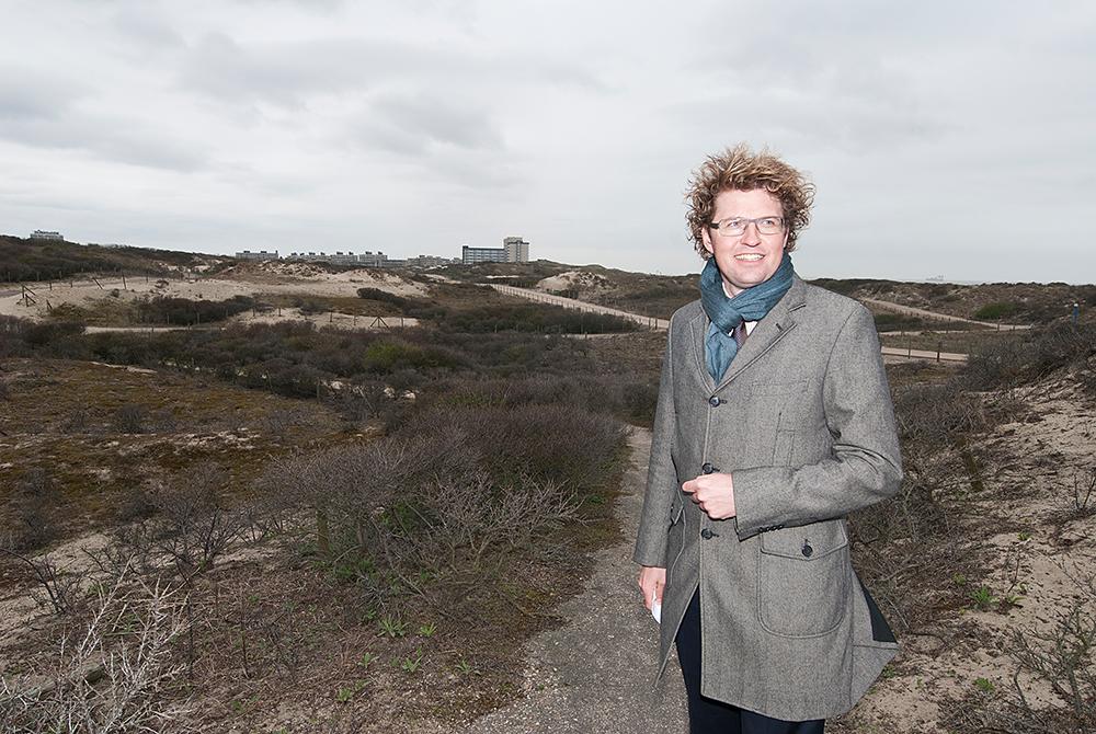 Toenmalig wethouder in Den Haag Sander Dekker in Westduinpark. Huidig minister voor Rechtsbescherming  ©Mylene Siegers