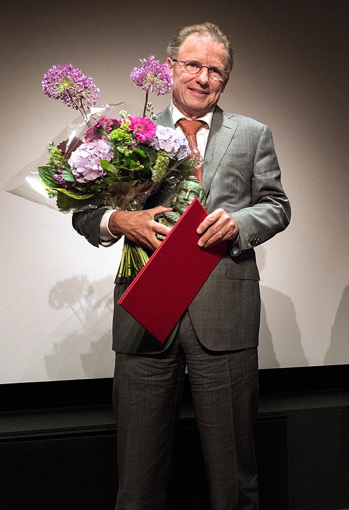 Willem Jan Otten ontvangt PC Hooftprijs 2014