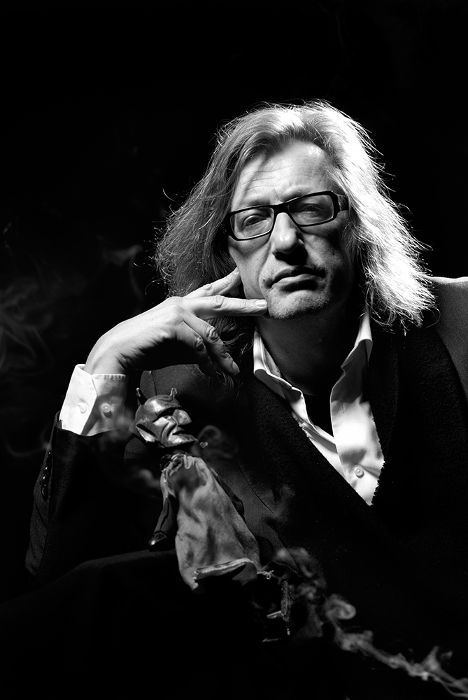 Theaterregisseur Johan Doesburg