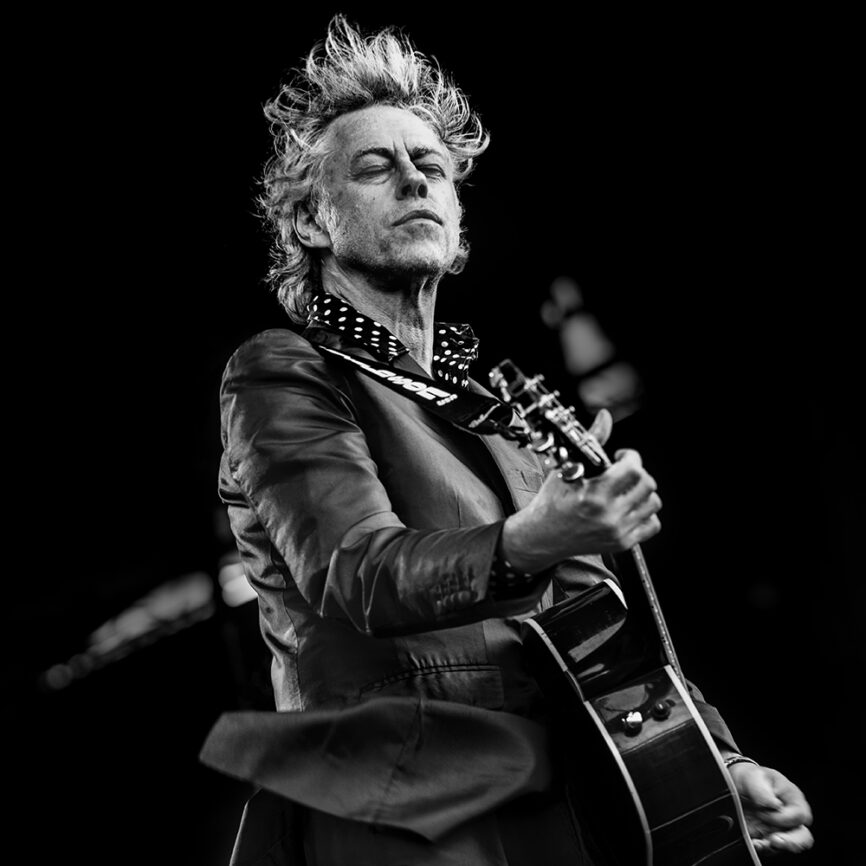 Bob Geldof at Parkpop The Hague ©Mylène Siegers